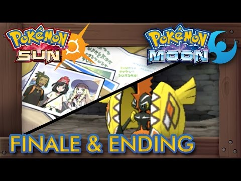 Pokémon Sun and Moon - Final Boss, Ending & Credits