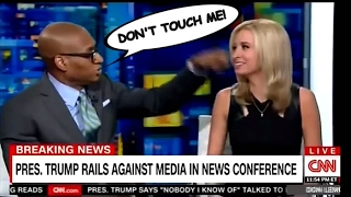 VICIOUS LEFTIST CHARLES BLOW ATTACKS PEACEFUL FEMALE TRUMP SUPPORTER ON CNN