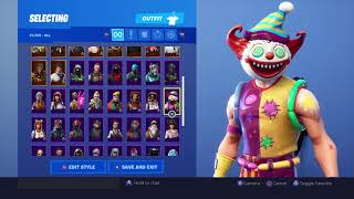FORTNITE SKIN COLLECTION!! | inkioctopus