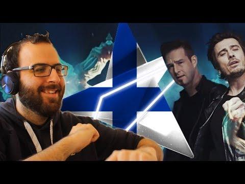 Eurovision 2019: Reaction To FINLAND 🇫🇮 (Darude Ft. Sebastian Rejman - ''Look Away'')