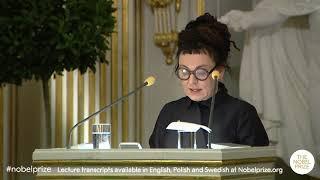 Wystąpienie Olgi Tokarczuk na gali przyznającej Nagrodę Nobla za 2018