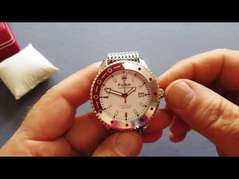 Hamtramck Watch, Red&White elegancy with Polish roots from PolAm