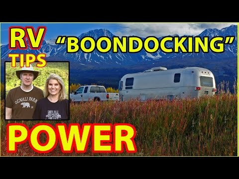 RV Boondocking & POWER (Generator, Propane, etc.)