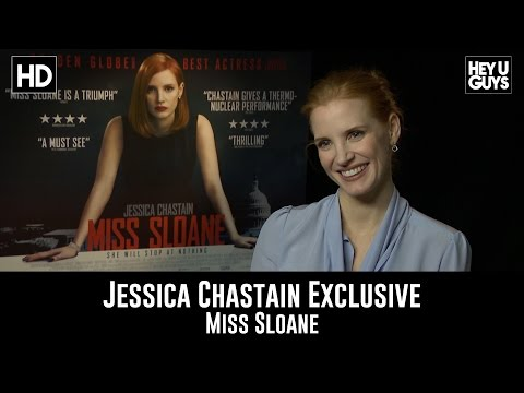 Jessica Chastain Exclusive Interview - Miss Sloane