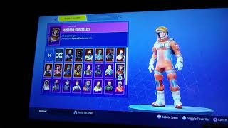 ALL MY FORTNITE SKIN FOR RIGHT NOW (ROGUE AGENT AND MORE)