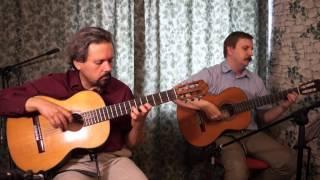 J.S.Bach, Fughetta BWV 961, guitar duo