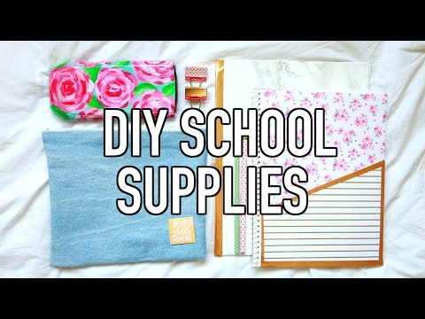 Quick & Affordable DIY School Supplies | RENEW Your Old School Supplies