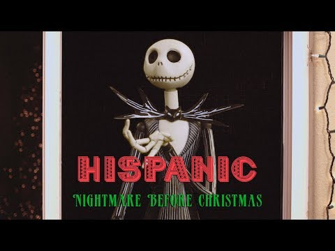 Hispanic Nightmare Before Christmas | David Lopez