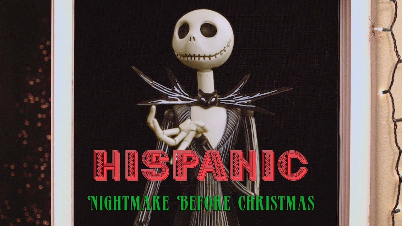 hispanic nightmare before christmas david lopez youtube