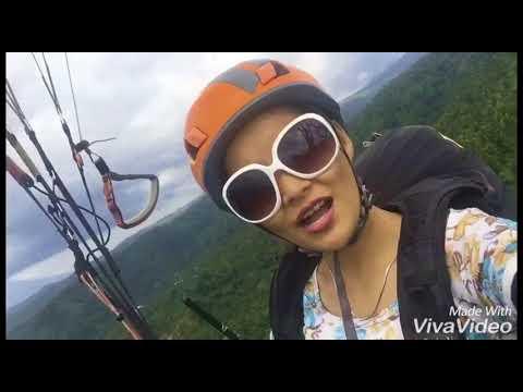 Angela Sanchay Paragliding