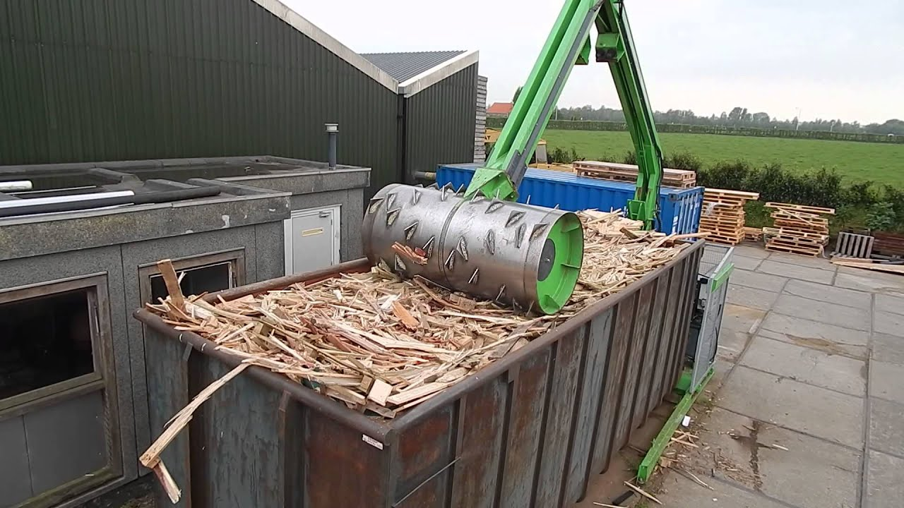 Pallet Recycling Upc Pallethandel Youtube