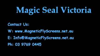 Magnetic Fly Screens