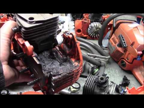 Husqvarna 345 to 350 conversion. A Firewood Saw. Simple tools Simple Build