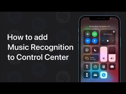 How To Add Music Recognition To Control Center On Iphone Ipad And Ipod Touch Apple Support Youtube