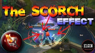 GLOWING WAND - HOW DOES SCORCH WORK? - SKILL EFFECTS OF GLOWING WAND
