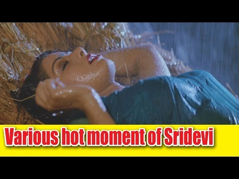 Various hot moment of Sridevi's Life
