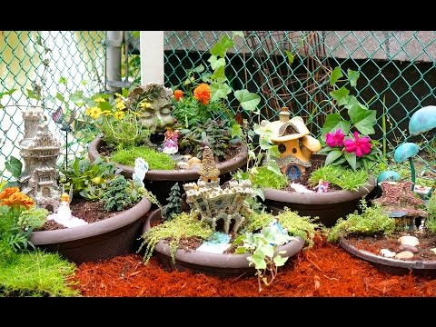 How To Make A DIY Fairy Garden