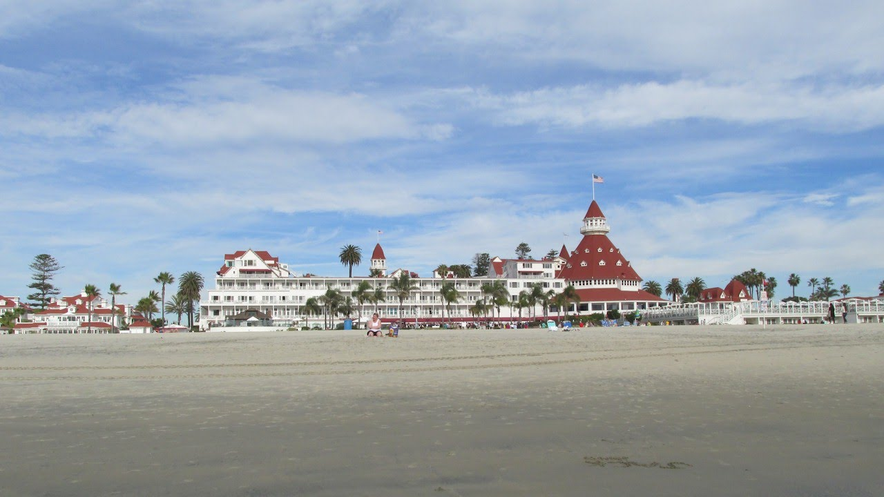 The Hotel Del Coronado San Go What A Great Beach You