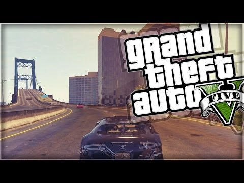 "GTA 5 Online Funny Moments | ""MOTORCYCLE BALANCE BEAM"" 