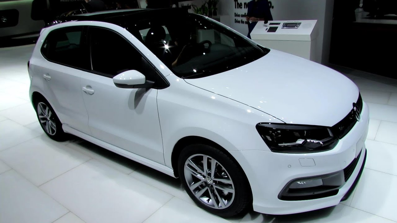 2014 volkswagen polo tsi r line exterior walkaround 2014 geneva motor show youtube. Black Bedroom Furniture Sets. Home Design Ideas