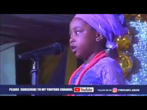 Download Little girl praising God in different languages