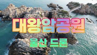 대왕암공원 출렁다리 울산 여행 드론 영상