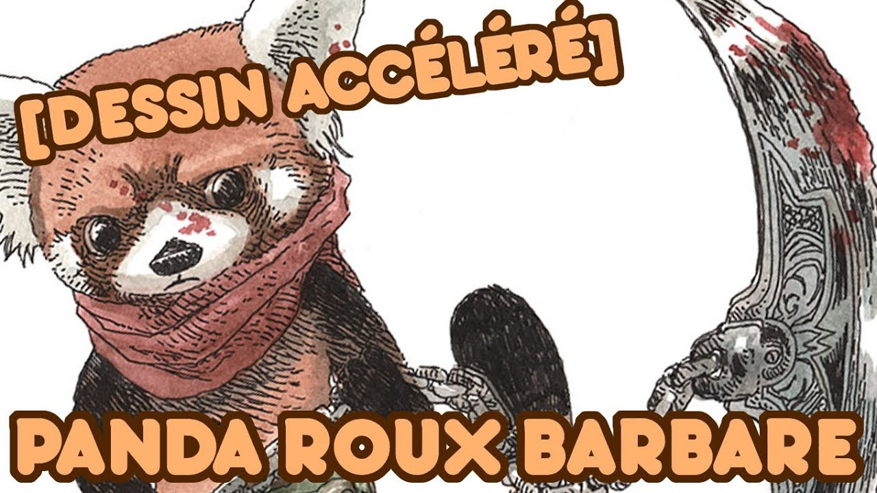 Panda Roux Barbare Youtube