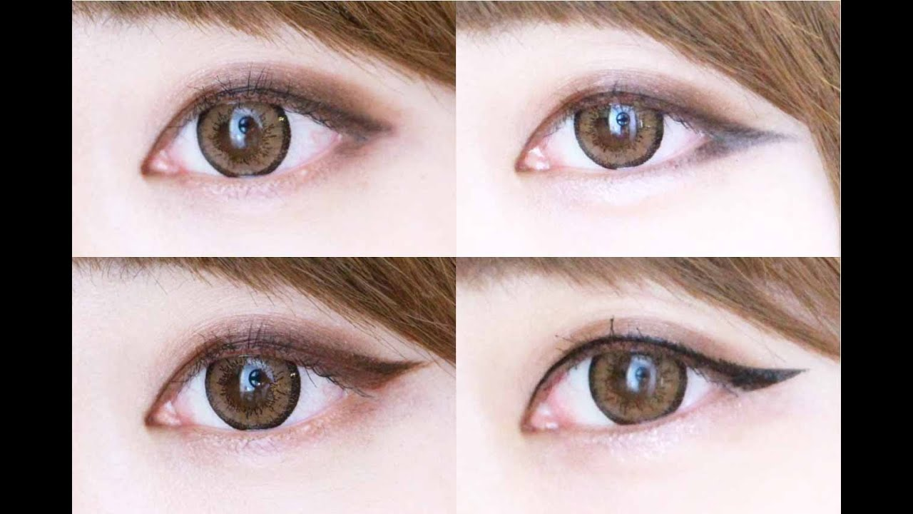 Eye makeup eyeliner designs