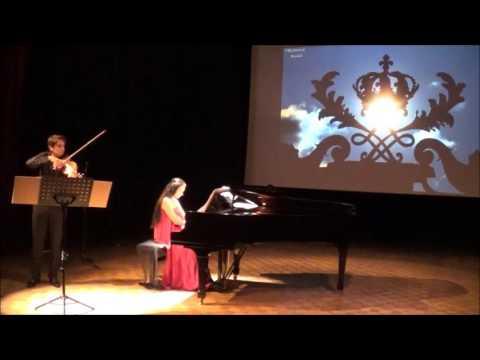"""""""Danse Espagnole """" E.Granados Concert projection B.Kulik M.Zuk"""