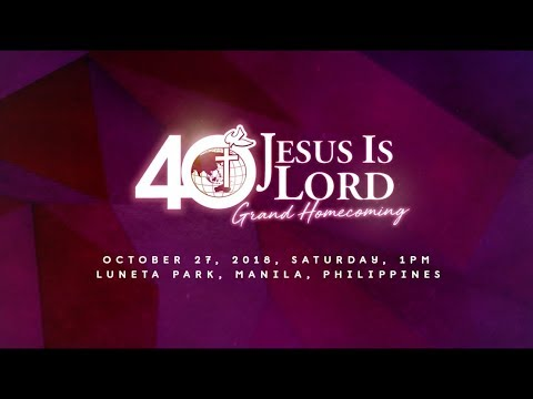 Bro. Eddie's JIL 40th Anniversary Invitation Mp3