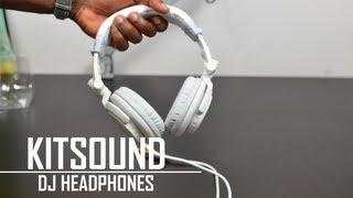 KitSound DJ Headphones Unboxing & Overview