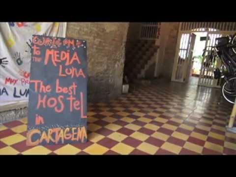 Media Luna Hostel Cartagena Colombia