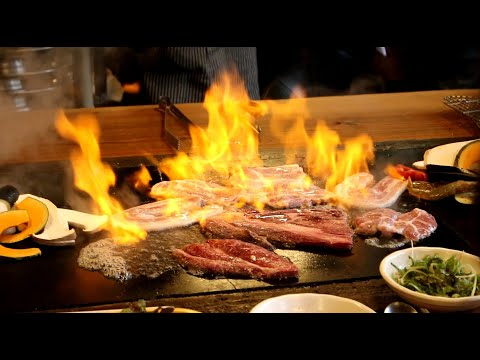 Stone Grill Steak – Korean Travel Food in Busan 부산여행기장맛집 황토마루