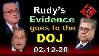Rudy's Evidence Goes to the DOJ - Truthification Chronicles