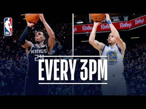Warriors & Kings Set NEW NBA Single-Game Record With 41 Three-Pointers Made! | January 5, 2019 thumbnail