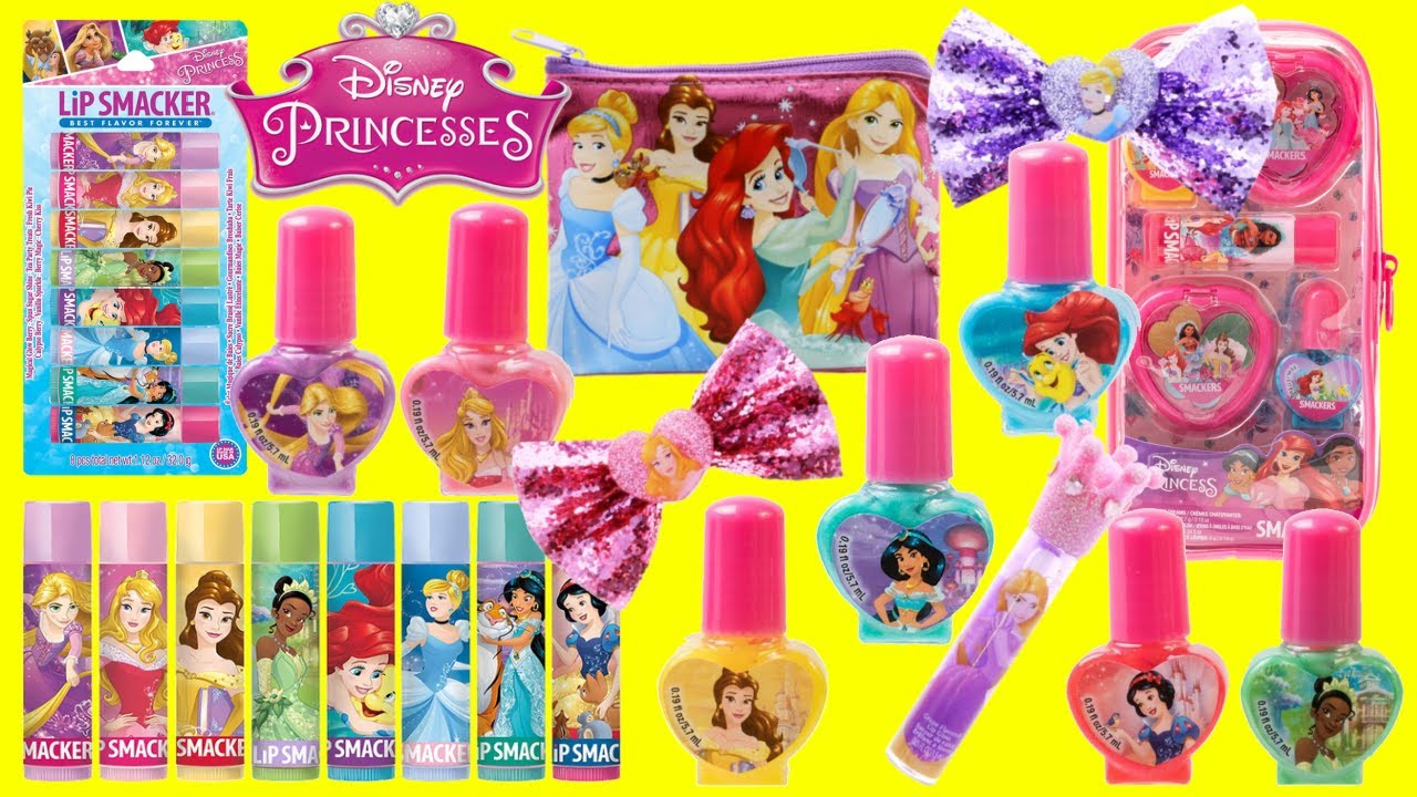 Download Disney Princess Beauty Style Lip Palm, Nail Polish, Activity Book and Stickers