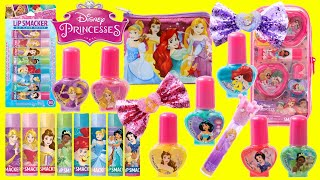 Disney Princess Beauty Style Lip Palm, Nail Polish, Activity Book and Stickers