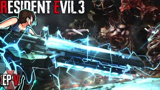 THE FINAL BOSS FIGHT! HE'S HUGEEEEE GIGGITY 😱 Resident Evil 3 - Ep.5 (Last Episode)