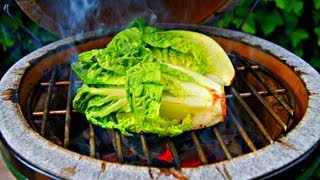 How To  Make Grilled Lettuce And A Great Vinaigrette Recipe