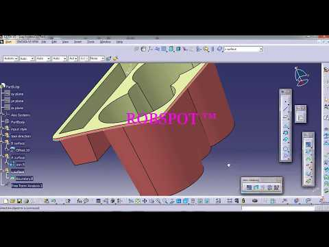 Master Section In Plastic Part Design Company S Cad Test 2 Automotive Design Training Isopara Youtube