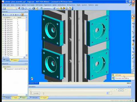Edgecam Strategy Manager for Milling