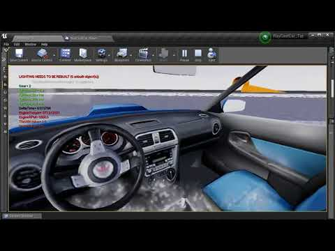 System of Physical Surfaces | UE4 Vehicle From Scratch