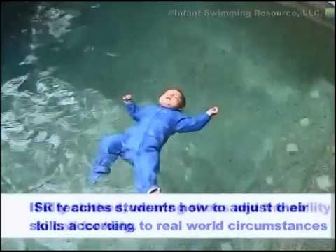 İnanılmaz Bebek - Havuzda Tek Başına Yüzen İnanılmaz Bebek!