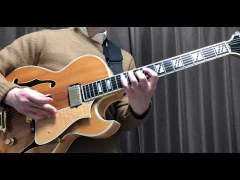 生音ジャズブルース F blues Jazz guitar Heritage Sweet16