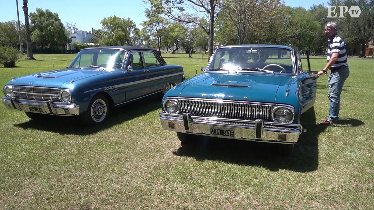 Dos Ford Falcon invaluables: joyas de colección en estado original