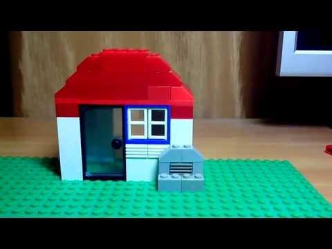 Вопрос: Как построить дом из LEGO?