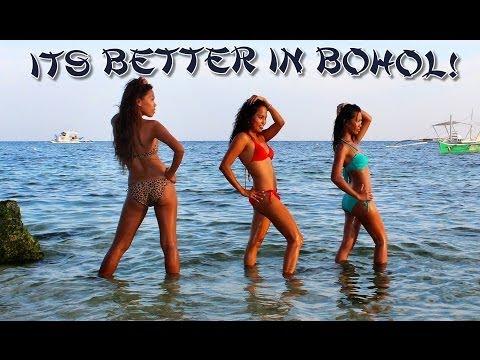 Alona Beach Panglao Island Bohol Philippines Beach Bikini Girls - Its Better In Bohol