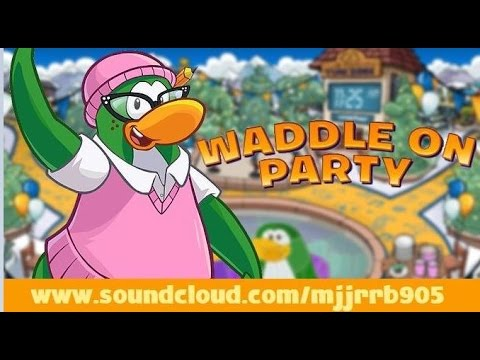 Club Penguin Music OST: Waddle On Party - Puffle Ragtime (Mine Shack)