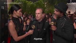 #GoldenGlobeNaTNT | Entrevista com Bob Odenkirk - Better Call Saul