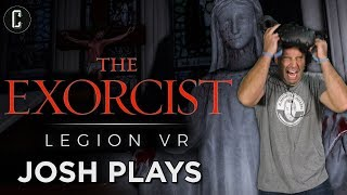 Exorcist Legion VR HTC Vive - The Scariest Game Josh Has Ever Played